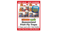Queensland Fruit Fly Trap Orchard Growers Pack 4000 Square Metre Coverage