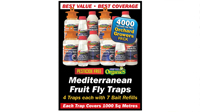 West Australian Mediterranean Fruit Fly Trap Orchard Growers Pack 4000 Square Metre Coverage