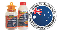 West Australian Mediterranean Fruit Fly Trap With 7 Refills